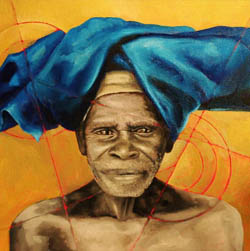 Belong to Africa - Paintings and Sketches on Canvas